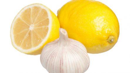 Лимон с чесноком для повышения иммунитета — полезные рецепты