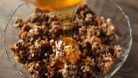 Смеси для иммунитета мед орехи лимон курага чернослив