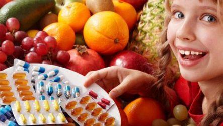 Снижение иммунитета — недостаток витаминов